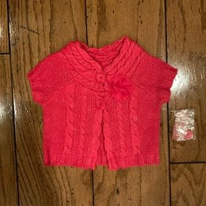 NWT Arizona Pink Shimmer Sweater
